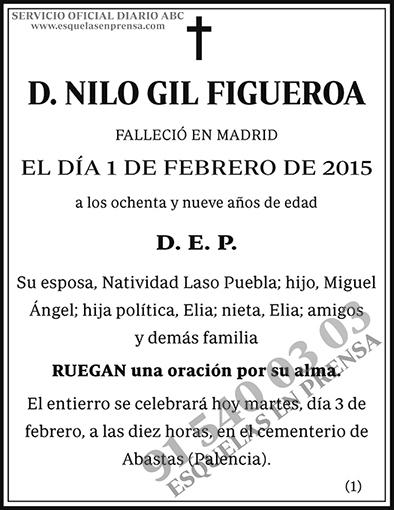 Nilo Gil Figueroa